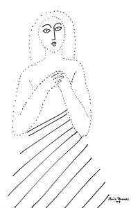 Bico-de-pena sobre papel, 2009 20 x 30 cm