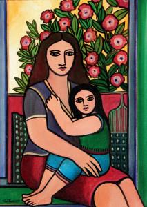 Acrílica sobre tela, 1997 70 x 50 cm