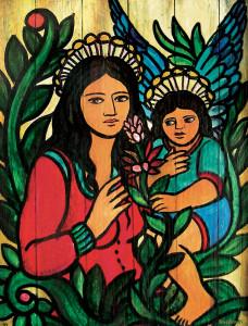 Acrílica sobre cartão, 1994 80 x 60 cm