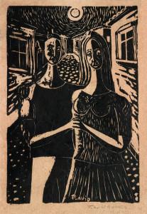 Xilogravura, 1963 20 x 15 cm