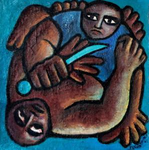Acrílica sobre tela, 1965 1 x 1,60 m