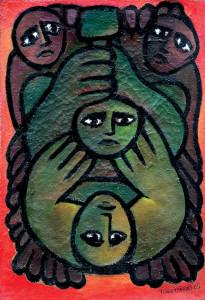 Encáustica sobre tela, 1965 100 x 78 cm