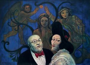 Acrílica sobre tela, 1987 90 x 120 cm