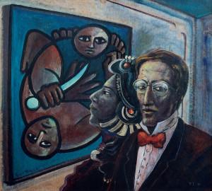 Óleo sobre papel, 1986 70 x 80 cm