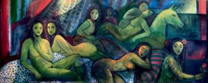 Acrílica sobre tela, 1993 80 x 200 cm