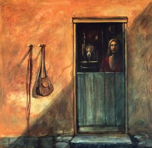 Acrílica sobre tela, 2004 1,20 x 1,20 m