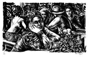 Litogravura, 2000 29 x 46 cm