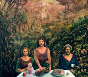 Acrílica sobre tela, 1995 1,50 x 1,80 cm