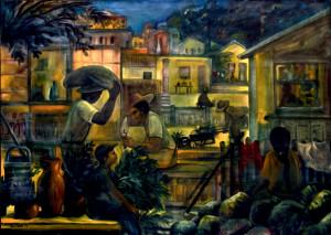Óleo sobre tela, 1992 1,60 x 2,25 m