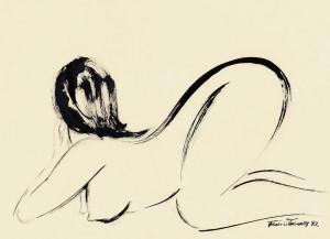 Nanquim sobre papel, 1992 32 x 42 cm