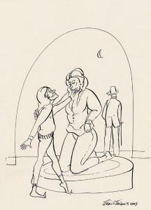 Nanquim sobre papel, 2003 32 x 42 cm