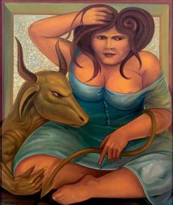 Óleo sobre tela, 1981 70 x 60 cm