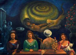 Óleo sobre tela, 1995 1,80 x 1,20 m